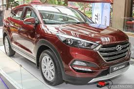 2016 Hyundai Tucson Red White Showcased In Malaysia