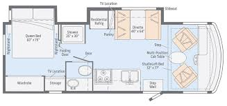 >intent floorplans winnebago rvs