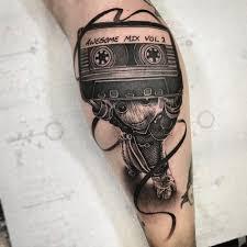 Groot Tattoo By Rob Richardson X Tetování Tetování Na