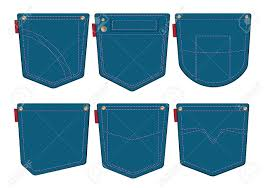 Pocket Jeans Design Set Of Jeans Pocket Design