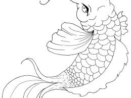 Small Picture Japanese Koi Fish Coloring Pages Apigramcom