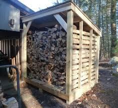 Wood Shed Firewood Storage