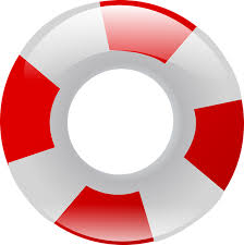 pool ring clipart. Modren Ring Swim Ring Inflatable Life Savers Rings Red White Intended Pool Ring Clipart I