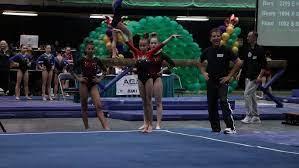 Lola Coffey Floor Long Beach Open 2020 Wildfire Gymnast Level 8 - YouTube