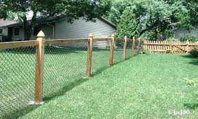 chain link fence post. Unique Chain Installing Chain Link Fence Posts A Style   To Chain Link Fence Post