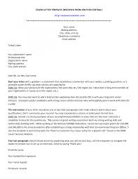 Cover Letter Writing A Professional Cover Letter Writing A