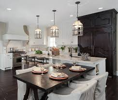 industrial cage kitchen pendant lighting