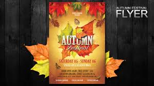 Fall Festival Flier How To Create A Autumn Festival Flyer In Photoshop