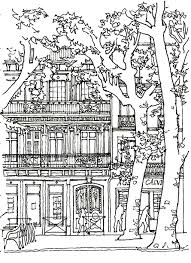 To Print This Free Coloring Page Coloring Architecture House Tree