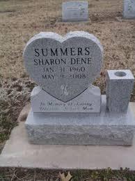 Sharon Dene Summers (1960-2008) - Find A Grave Memorial