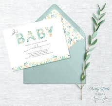 Do It Yourself Baby Shower Invitation Templates Diy Baby Shower Invitations Template Homemade Baby Boy