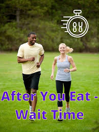 exercise after eating how long to wait