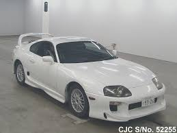 1996 Toyota Supra White for sale | Stock No. 52255 | Japanese Used ...