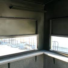 Window Blinds  Sliding Deer Blind Windows Blinds Stands Window Plexiglass Deer Blind Windows
