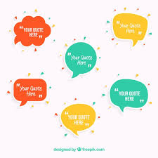 Template For A Speech Speech Bubbles Template Vector Free Download