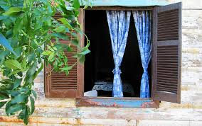 open window from outside. Beautiful Open An Open Window And Blue Curtains Somewhere In La Boca District Of Buenos  Aires Argentina Intended Open Window From Outside O
