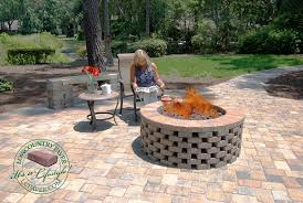 unique build a fire pit with pavers diy firepit kits lowcountry building a fire pit with