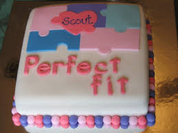 Puzzle Cake Designs Adoption Cake Google Search Adoption Cake Adoption