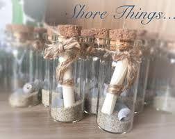 Mini Scroll in a bottle, Message in a bottle, Beach in a Bottle,