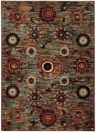 sphinx oriental weavers area rugs sedona rugs 6408k multi for fancy oriental weavers area