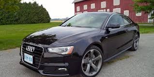 black audi a5 2014. 2014 audi a5 20 tfsi coupe quattro technik black