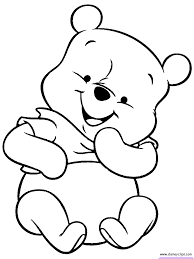 Coloring Pages Disney Babies Coloring Book Pages Awesome Baby Pooh