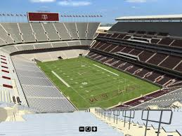 Tamu Football Seating Chart Interactive 3d Tour Of 2015 Kyle Field Good Bull Hunting