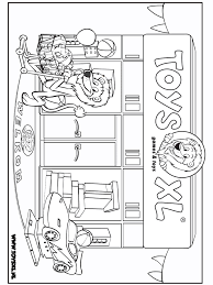 Toysxl Kleurplaat 1 Overige