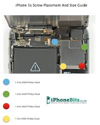 Iphone 6 Screw Size Chart Iphone 5s Blue Screen After Screen Replacement