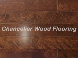 chocolate color of maple flooring