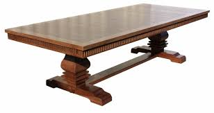 Image of: Trestle table leg plan