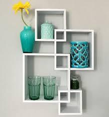 office floating shelves. NEW Brand Decorative 4 Cube Floating Wall Shelves For Living Room Office Cabinet O