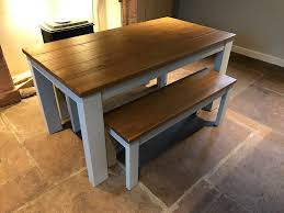 dining table bench set next hartford painted bench set