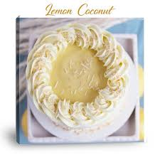 Mary Elizabeths Creations Coconut Cake Filled Lemon Curd And A