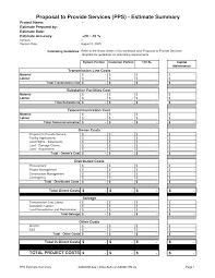 Best Photos Of Service Estimate Template - Free Estimate Invoice ...