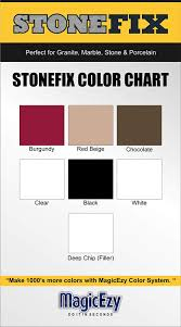 Magicezy Color Chart Magicezy Stone Fix Black Ceramic Tile Marble Granite Countertop Repair Fills And Colors In Seconds 3 Year Durability Guarantee