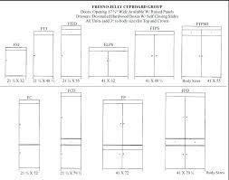 Kitchen Cabinet Door Size Chart Standard Kitchen Cabinet Sizes Chart Kitchen Cabinets Sizes