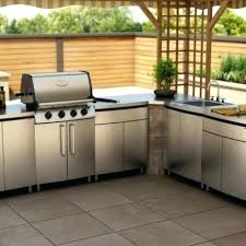 outdoor kitchen cabinets cabinet doors best of luxury stainless steel diy out