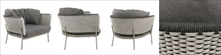 studio two tone weave relaxing chair
