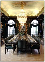 i don t think i ll need a dining room table that seats 20 but essence of the room is beautiful i love the style and plushness of the chairs