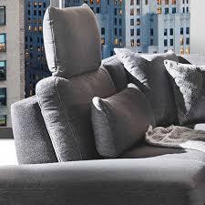 Kw Polstermöbel Wohnlandschaft Melody 7266 In U Form Inklusive Sitztiefenverstellung Und Zwei Kopfstützen Mit Einem Modernen Verchromten Blitzfuß Und