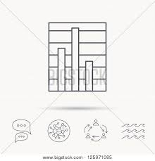 Chart Chat Connect Chart Icon Graph Vector Photo Free Trial Bigstock