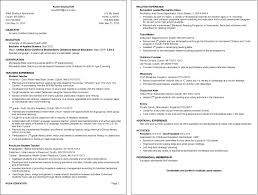 Resume Examples Umd