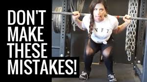 TOP 5 MOST COMMON SQUAT FORM MISTAKES (and how to fix them!) - YouTube