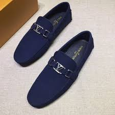 Louis Vuitton Lv Man Shoes Leather Loafers In 2019 Lv Men