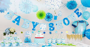 Boy Baby Shower Packages Ba Shower Party Supplies Ba Shower Decorations  Party City