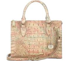 brahmin anywhere convertible sandstone melbourne embossed leather purse