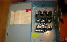 electrical disconnect box general electric fuse disconnect box tg4322 60 amp 240 volt model 7