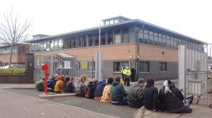 outside home office. BLOCKADE AT HOME OFFICE T Blockade 2 Outside Home Office