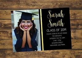 High School Graduation Announcement Graduation Invitation Graduate 2019 High School Graduation